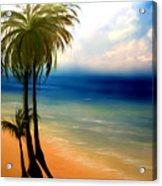 By The Beach Acrylic Print