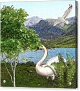 By The Lake 5 Acrylic Print