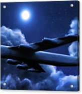 By The Light Of The Blue Moon Acrylic Print
