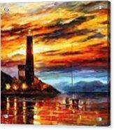 By The Lighthouse Acrylic Print