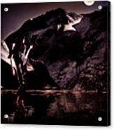 By The Moon Acrylic Print