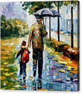 By The Rain Acrylic Print