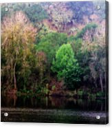 By The Riverside Acrylic Print