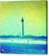 By The Sea - Cape May Lighthouse Acrylic Print