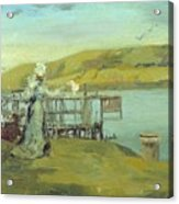 By The Sea Swanage Acrylic Print