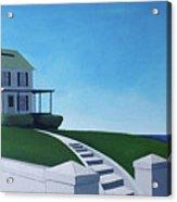 A House By The Sea Acrylic Print