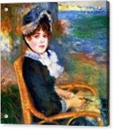By The Seashore 1883 Acrylic Print