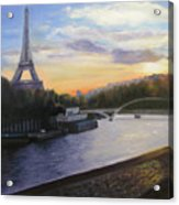 By The Seine Acrylic Print