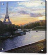 By The Seine Acrylic Print