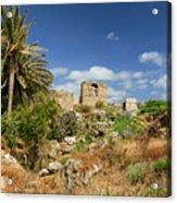 Byblos Castle, Lebanon Acrylic Print