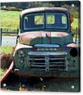 Bygone Dodge Acrylic Print