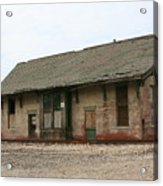 Bygone Whistle Stop Acrylic Print