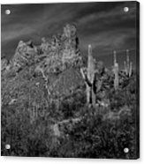 Byous Butte Acrylic Print