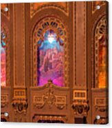Byrd Theater Alcoves Acrylic Print