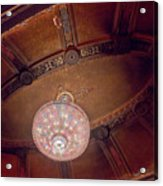 Byrd Theater Chandelier Acrylic Print
