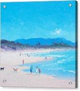 Byron Bay Beach Morning Acrylic Print