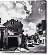 Bywater In Black And White Acrylic Print
