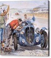 c 1949 the delahaye 135 s driven by giraud and gabantous Roy Rob Acrylic Print