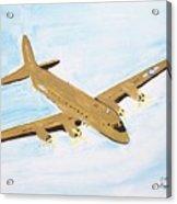 C-54 Warplane Acrylic Print