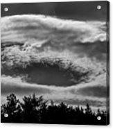 C Clouds Acrylic Print