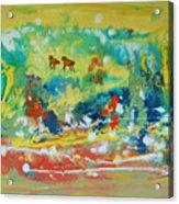 C Est La Vie Acrylic Print