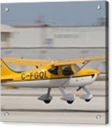 C-fgql Aircraft Acrylic Print