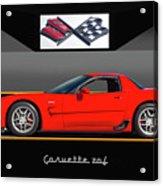 C5 Corvette Zo6 'profile' I Acrylic Print