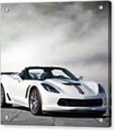 C7 Z06 Corvette Acrylic Print