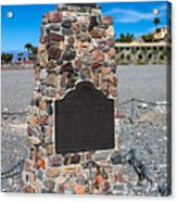 Ca-442 Death Valley 49ers Gateway Acrylic Print