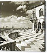 Ca D'zan Mansion Acrylic Print
