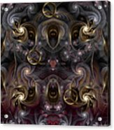 Cabalistic Symmetry Of Q Acrylic Print
