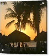 Cabana Sunset Acrylic Print
