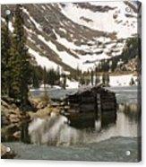 Cabin At Chinns Lake Acrylic Print