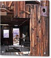Cabin At Inyo Mine Acrylic Print