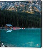 Cabin At The Lake, Acrylic Print