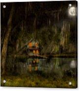 Cabin - De Land, Fl - Restless Night 1904 Acrylic Print