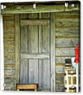Cabin Door Acrylic Print