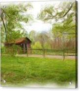 Cabin House Series 1360 Acrylic Print