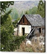 Cabin In Need Of Repair Acrylic Print