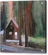 Cabin In The Woods 08 Acrylic Print