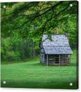 Cabin On The Blue Ridge Parkway - 1 Acrylic Print