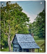 Cabin On The Blue Ridge Parkway - 10 Acrylic Print