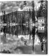 Cabin Reflection Acrylic Print