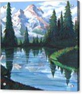 Cabin View Acrylic Print