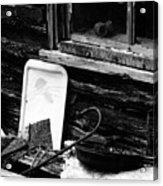 Cabin-window Acrylic Print