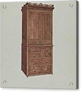 Cabinet Acrylic Print