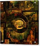 Cabinet Of Curiosities Acrylic Print