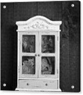 Cabinet Of Curiosity Acrylic Print