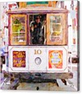 Cable Car No. 10 Acrylic Print