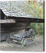 Cable Mill Barn Acrylic Print